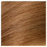 Aqua Cylinder Hair Extensions #8 Golden Brown 18""