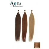 "Aqua Cylinder Extensions #8 Golden Brown 18"""