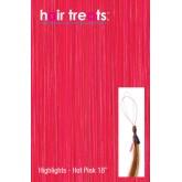 "Hair Treats Micro Sphere Highlights Deep Pink 18"""