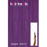 Hair Treats Micro Sphere Highlights Violet 18""