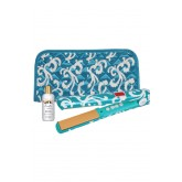 Chi Aqua Couture G2 Flat Iron+clutch+2oz Silk