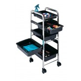 Dannyco Chrome Frame Trolley