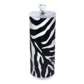 Designer Disinfectant Jar Zebra