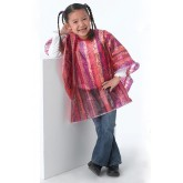 Dannyco 52-girl Pink Kiddie Cape