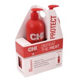 Chi 44 Iron Guard Shamp Cond Liter Duo 2pk 33oz