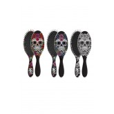 Wet Brush Skulls Red Rose/purple Rose/ White Rose