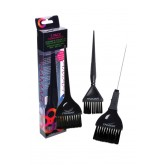 Framar Variety Coloring Brush Set Black 3pk