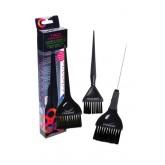 Framar Coloring Brush Set Black 3pk
