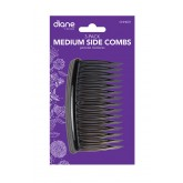 Fromm Diane Medium Side Combs Black 3pk Dhh007