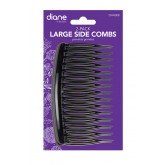 Fromm Diane Large Side Combs Black 2pk Dhh008