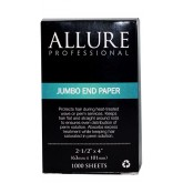 "Allure End Papers Jumbo 2.5"" x 4"" 1000 Sheets"