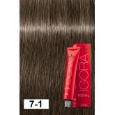 Igora Royal 7-1 Medium Blonde Cendre 2oz