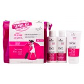 BC Bonacure Pink Holiday Color Save Travel Kit