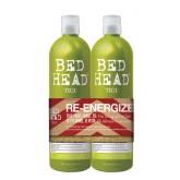 Bed Head Re-energize Shampoo Conditioner 2pk 25oz