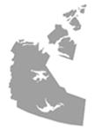 Canada Map Grey NW