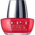 OPI Infinite Shine Red Heads Ahead 0.5oz