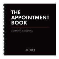 Allure Appointment Book - 6 Column