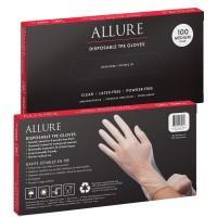 Allure TPE Disposable Gloves 100pk - Medium