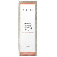 Allure Natural Muslin Epilating Strips 100pk - Large