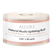 "Allure Natural Muslin Epilating Roll 3.25"" x 40yd"