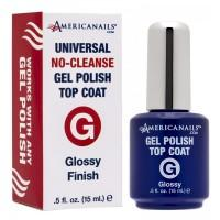 Americanails Gel Polish Glossy Top Coat 0.5oz