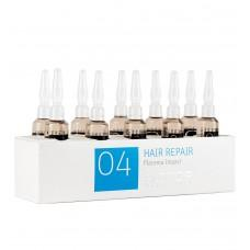 Biotop Professional 04 Hair Repair Treatment Ampoules 10pk