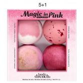 Body Drench Magic In Pink Bath Bombs 4pk 5+1