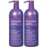 Clairol Professional Shimmer Lights Shampoo 32oz 2pk Offer