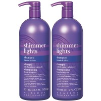 Clairol Professional Shimmer Lights Shampoo 32oz 2pk Offer