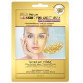 SatinSmooth LuxGold Foil Sheet Mask