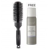 Ergo Round Brush Medium + Keune Root Volumizer 2pk