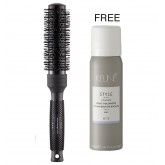 Ergo Round Brush Small + Keune Root Volumizer 2pk