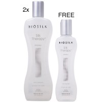 Biosilk Silk Therapy 11oz 5oz Offer 3pk