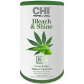 CHI Bleach & Shine Hemp & Aloe Infused Lightener 16oz
