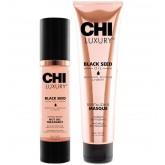 CHI Luxury Hot Oil & Masque 2pk
