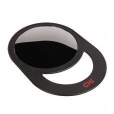CHI Round Mirror Black