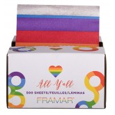 "Framar All Y'all 5x11"" Pre-cut Embossed Foil - 500 Sheets"