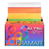 """Framar All Y'all 5x11"""" Pre-cut Embossed Foil - 500 Sheets"""