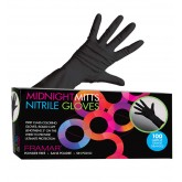 Framar Midnight Mitts Nitrile Gloves 100pk - Medium
