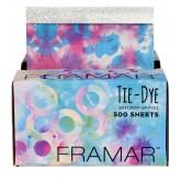 "Framar Tie-Dye 5x11"" Pop-Up Foil - 500 sheets"