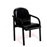 GD 9805 Reception Chair Black