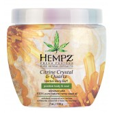 Hempz Citrine Crystal & Quartz Herbal Body Buff 7oz