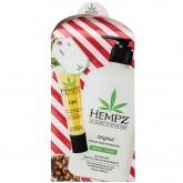 Hempz Body Moisturizer 17oz & Lip Balm Gift Set - Original