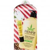 Hempz Body Moisturizer 17oz & Lip Balm Gift Set - Sweet Pineapple & Honey Melon