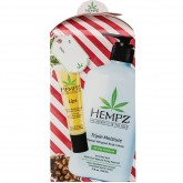 Hempz Body Moisturizer 17oz & Lip Balm Gift Set - Triple Moisture