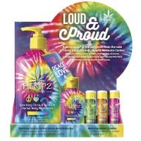 Hempz Loud & Proud Counter Display 22pc