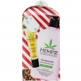Hempz Body Moisturizer 17oz & Lip Balm Gift Set - Pomegranate