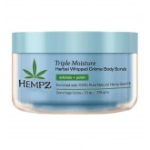 Hempz Triple Moisture Whipped Creme Body Scrub 7oz