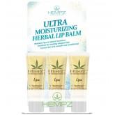 Hempz Ultra Moisturizing Herbal Lip Balm Display 12pc