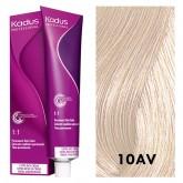 Kadus Permanent 10AV Lightest Blonde Ash Violet 2oz